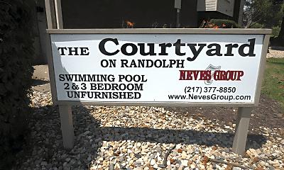 Community Signage, 717 S Randolph St, 2