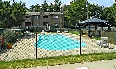 Pool, Sun Villa Townhomes, 1