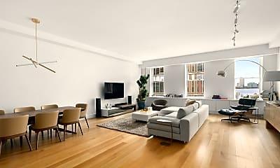Living Room, 15 Hubert St 4-A, 1