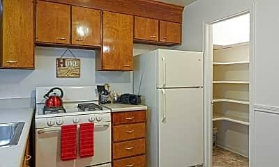 Kitchen, Berkeley Place/Warwick Place, 1