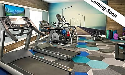 Fitness Weight Room, The Landings on East Hill, 2