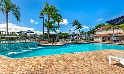 Pool, Gatehouse at Pine Lake Apartments, 0