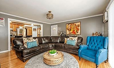 Living Room, 375 Huntington Ave, 1