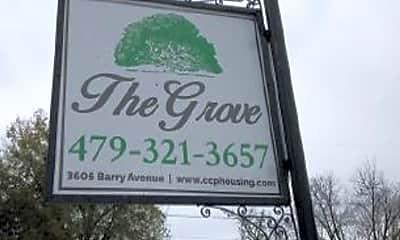Community Signage, 3605 Barry Ave, 2