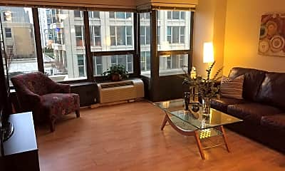 Living Room, 30 E Huron St APT 1106, 1