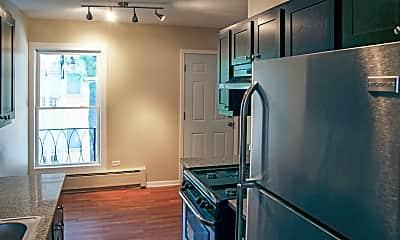 Kitchen, Parkside Apartments, 1