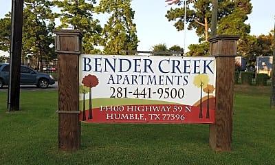 Bender Creek, 1