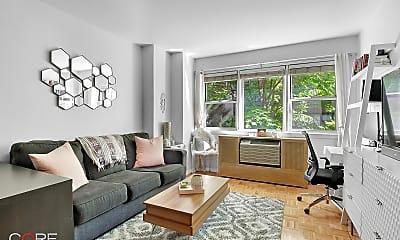Living Room, 245 E 35th St 4J, 0