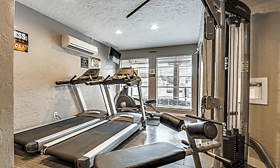 Fitness Weight Room, The Loop, 2