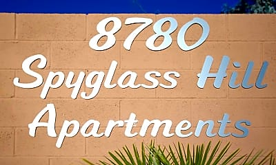 Community Signage, Spyglass Hill, 2