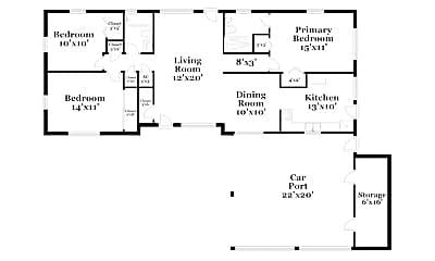 Building, 4300 Devonshire Ln, 1