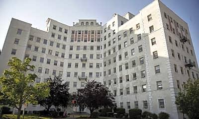 Building, Stuart Court Apartments, 0