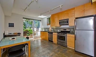 Kitchen, 52 Rausch St, 1