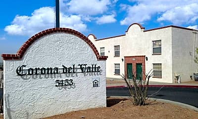 Community Signage, Corona Del Valle Apartments, 0