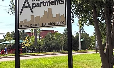 Community Signage, 8800 - 8824 West 36th street, 0