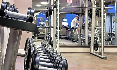 Fitness Weight Room, 100 Paterson Plank Rd, 2