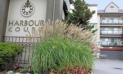 Community Signage, Harbour Court, 1