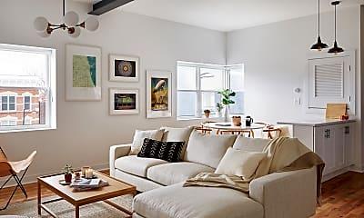 Living Room, 1831 S Racine Ave, 0