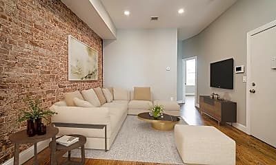 Living Room, 163 Monticello Ave, 2