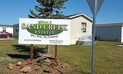 Community Signage, Sand Creek Estates, 0