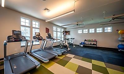 Fitness Weight Room, WaterStone at Hamburg, 2