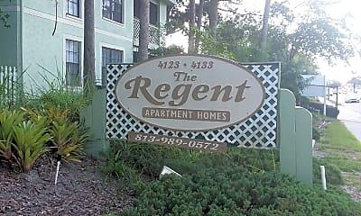 Regent Apartments, 1