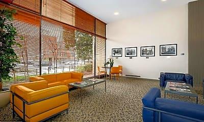 Living Room, 1711 Massachusetts Ave NW 714, 1