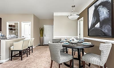 Dining Room, Aston Apartment Homes, 1