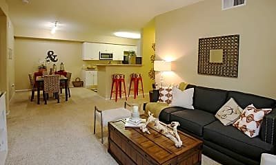 Living Room, Park Central, 1