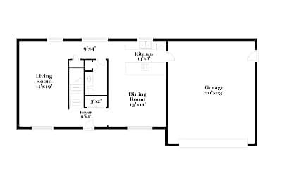 Building, 22517 38th Ave E, 1