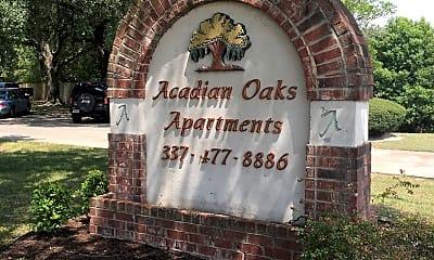 Acadian Oaks Apartments, 1