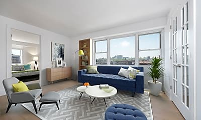 Living Room, 630 Lenox Ave 14-E, 0