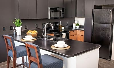 Kitchen, Trail's Bend Apartments and Townhomes, 1