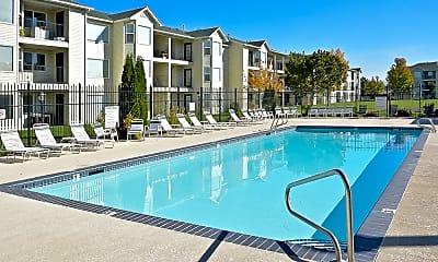 Pool, Aspen Hills Apartments, 0