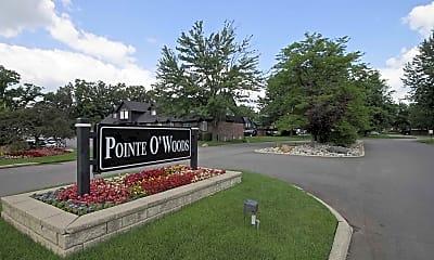 Community Signage, Pointe O Woods, 2