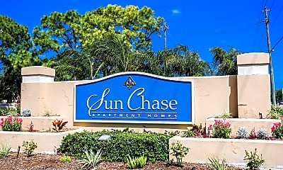 Community Signage, Sun Chase Apartment Homes, 2