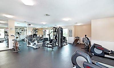 Fitness Weight Room, 807 Mystic Dr 507, 2