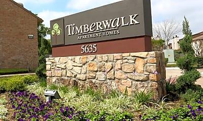 Community Signage, Timberwalk, 2