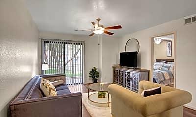 Living Room, FIVE46 Apartments, 1