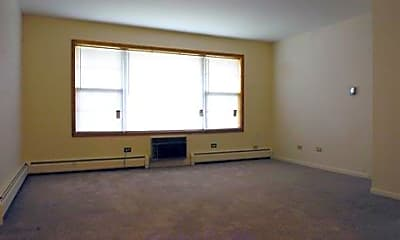 Living Room, Colonial Apartments, 1