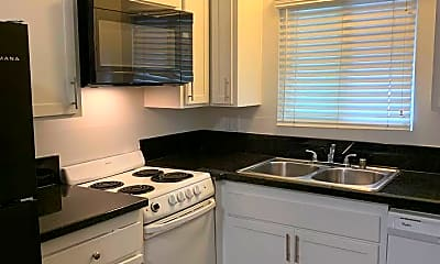 Kitchen, Capri Apartments at Isla Vista, 1