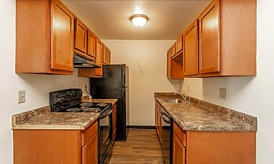 Kitchen, Hickman Flats, 0