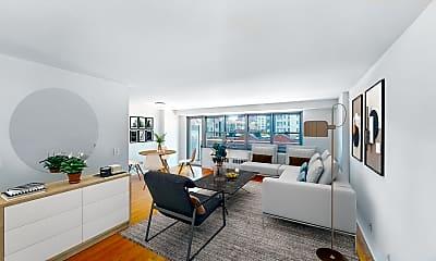 Living Room, 765 Amsterdam Avenue #8F, 0