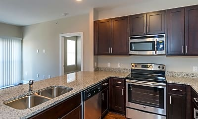 Kitchen, The Amber at Greenbrier, 2