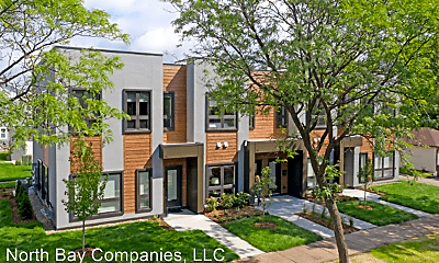 Building, Lowry Row Homes, 0