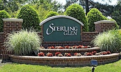 Community Signage, Sterling Glen, 2