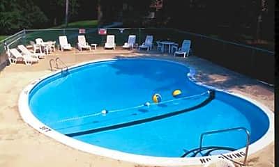 Pool, Christmas Lake Manor, 1