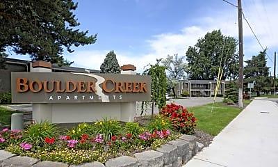 Community Signage, Boulder Creek Apartments, 2