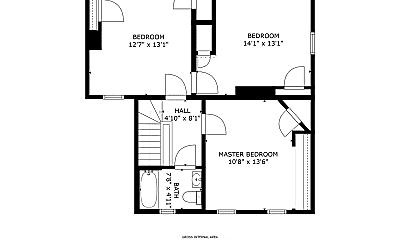 Bedroom, 335 N McKean St, 2