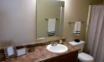 Bathroom, Turtle Lake, 2